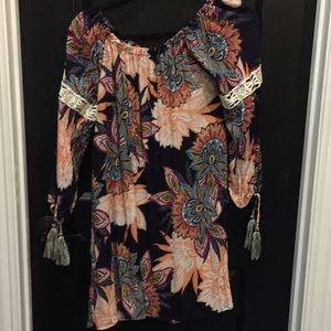 Colorful Flower Tunic